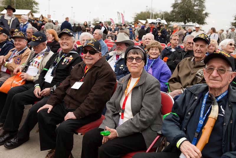 14Mar5 - HLSR Ceremony 004 RB Kelley, Roy Hughes, Ike Hargraves, Bobby, Martha, Harding