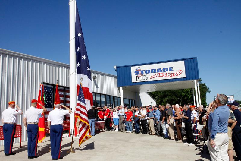 10May5 LSHF Flag Raising Ceremony Marine Corp League 018