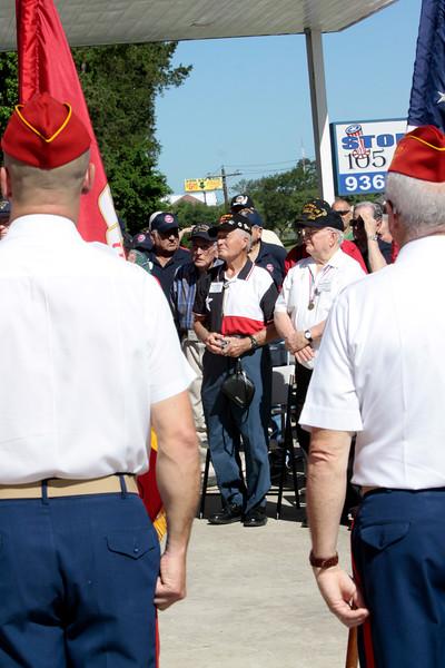 10May5 LSHF Flag Raising Ceremony Marine Corp League 038