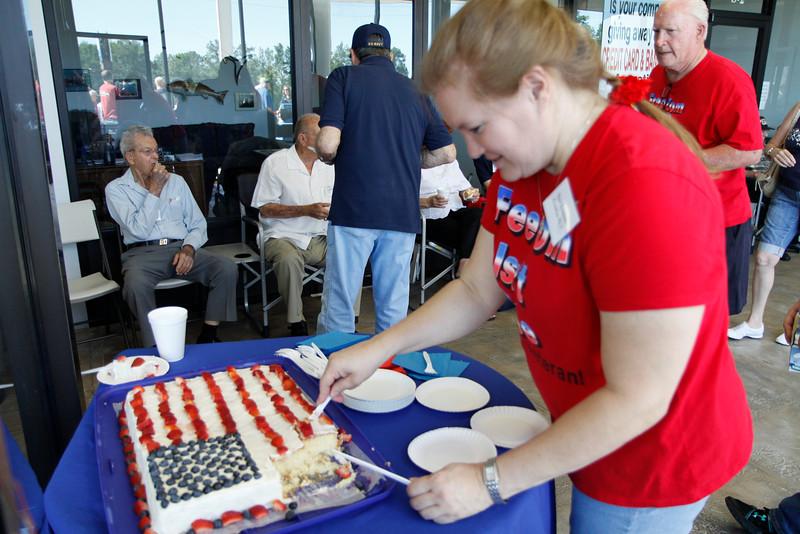 10May5 LSHF Flag Raising Ceremony Cake Sheri Kennedy 001