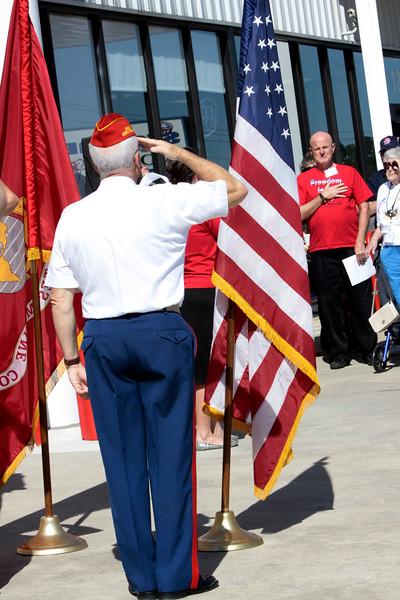 10May5 LSHF Flag Raising Ceremony Marine Corp League 029