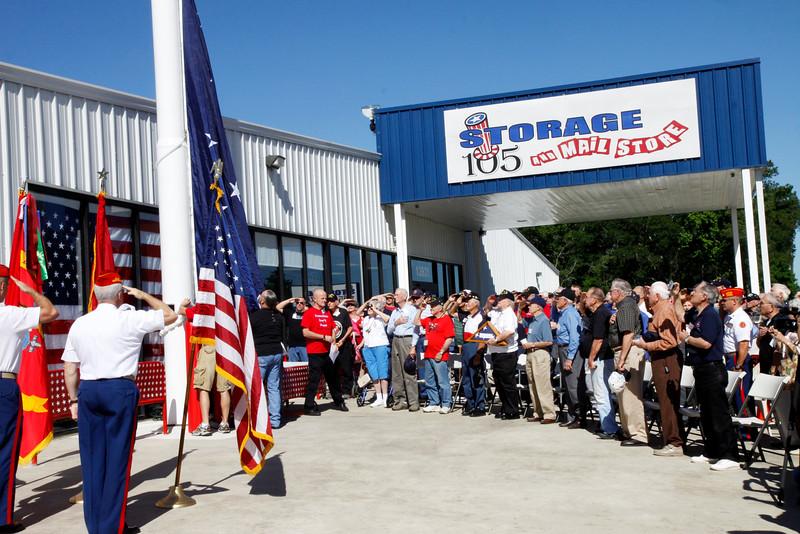 10May5 LSHF Flag Raising Ceremony Marine Corp League 016