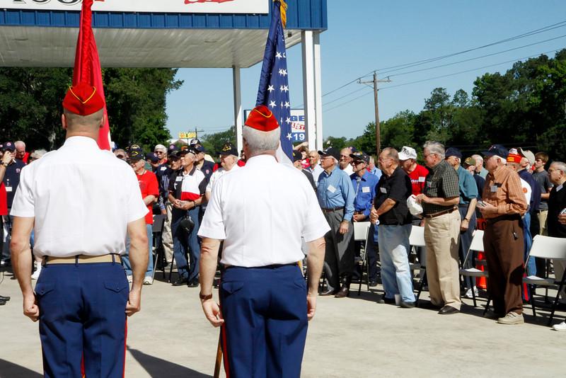10May5 LSHF Flag Raising Ceremony Marine Corp League 036