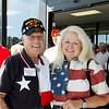 10May5 LSHF Flag Raising Ceremony Ike Hargraves, Jenni Capano 004