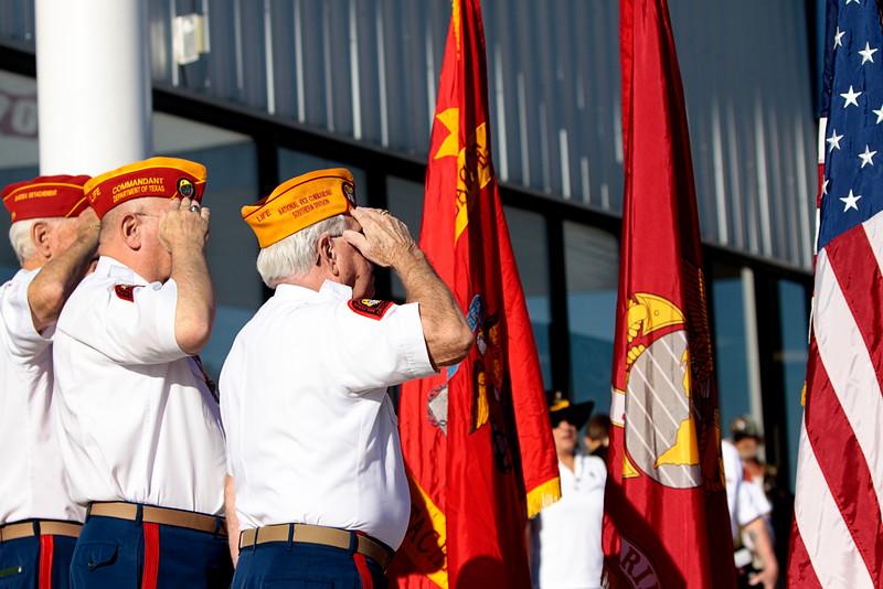 10Oct6 LSHF 2nd Flag Raising 041