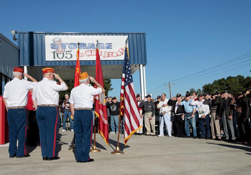 10Oct6 LSHF 2nd Flag Raising 012
