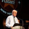 Jack McClanahan, owner of Storage 105, also instrumental in helping with the flights, provides a meeting place each week for the WWII veterans.<br /> Septembr 11, 2010. Lonestar Honor Flight showing of flight's 4 & 5.
