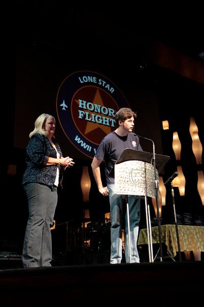 Colin Morse, Lonestar Honor Flight guardian produced the flight 4 and 5 videos. <br /> <br /> Septembr 11, 2010. Lonestar Honor Flight showing of flight's 4 & 5.