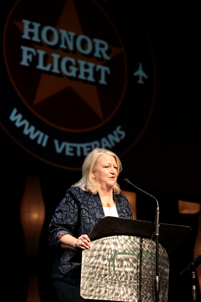 Septembr 11, 2010. Lonestar Honor Flight showing of flight's 4 & 5. History teacher Brenda Beaven, whose dream of sending WWII veterans to Washington D.C. to visit the WWII memorial came to pass. A total of 500 WWII veterans were sent to D.C. due to Brenda's efforts