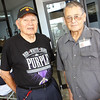 American Indian WWII veteran John B. and American Indian and Korean veteran Bernard B