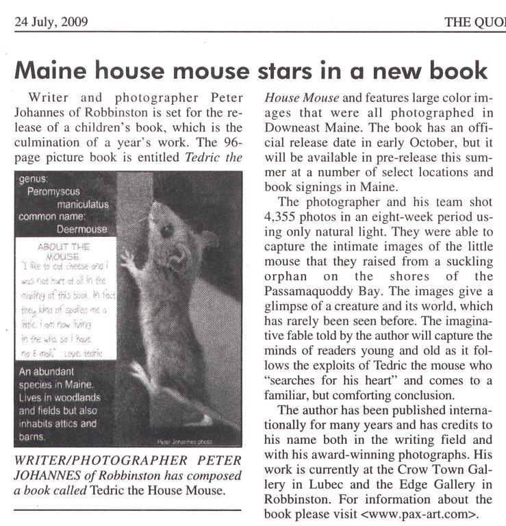 a Mouse becomes a Star - 2009