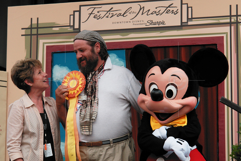 Three time award winner at Disney's Festival of the Masters