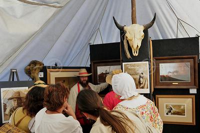 Windwalker Exhibit at Alafia - 2009