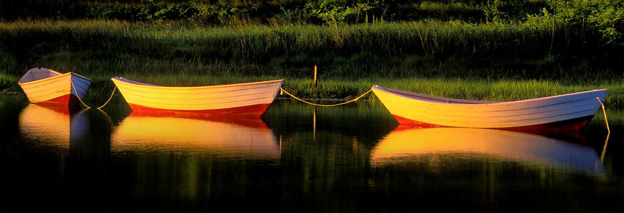 Triple Dory Sunrise