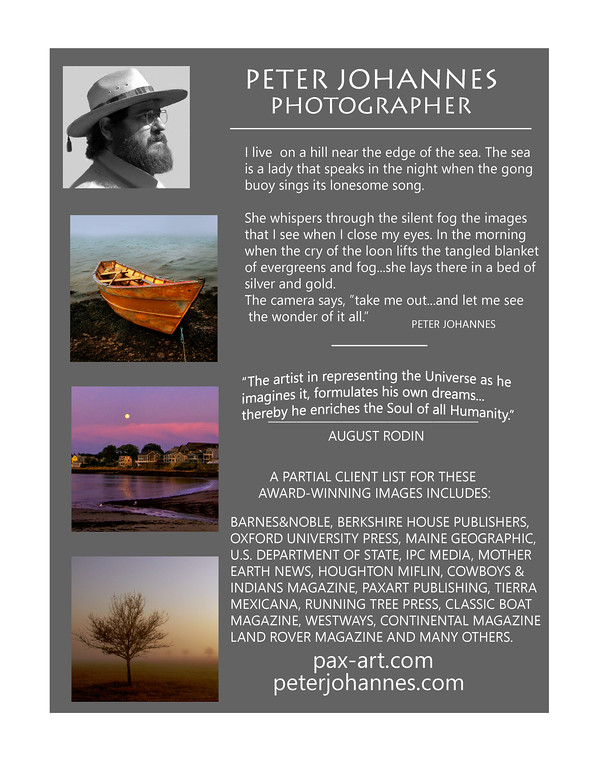 Maine Photography Poster