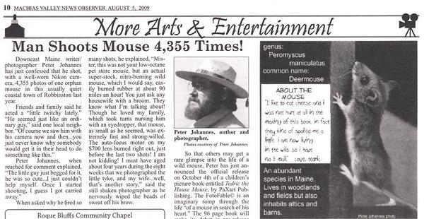 Man Shoots Mouse - 2009