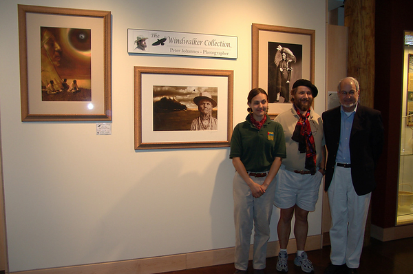 Windwalker Exhibit Opening - 2007