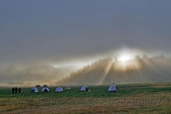Diamond Complex Fire camp, Montana