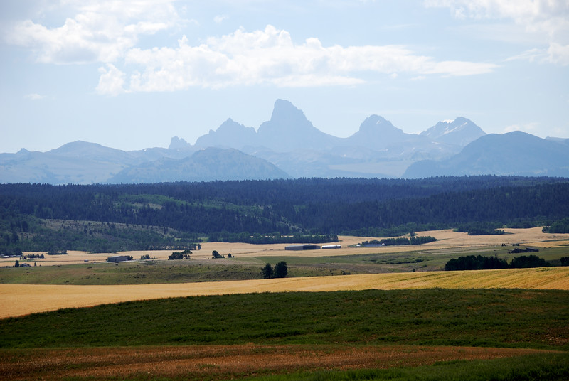 Tetons, from the Idaho Side