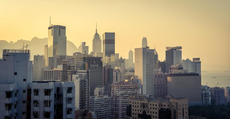 Wan Chai skyline