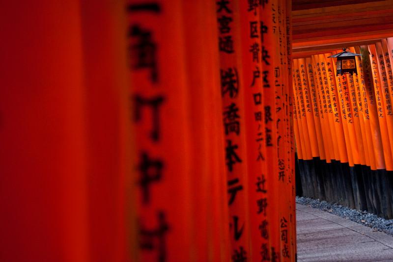 Torii Tunnel Lantern