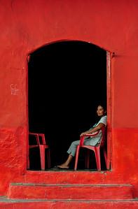 Puerta rojo - The Red Door