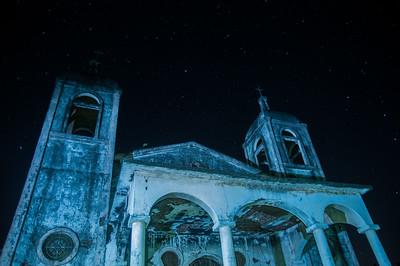 Estrellas sobre la Iglesia.