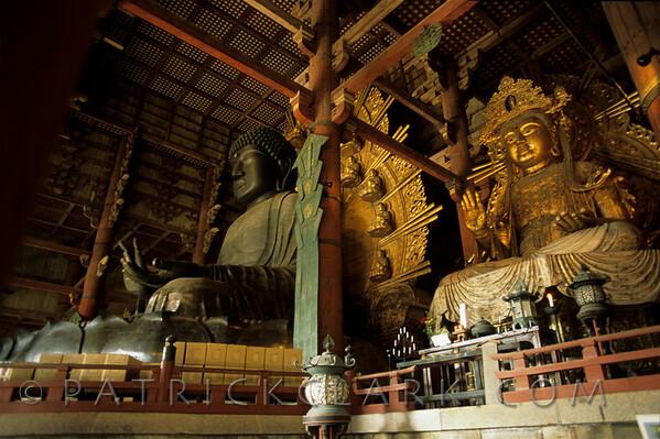 Buddha Daibutsu, Nara, Japan  Constructed 752 AD