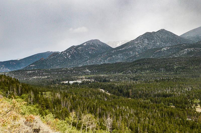 View Toward Sprague Lake