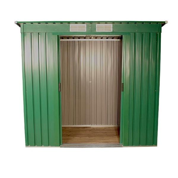 6x4 Pent Green