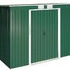 8x4 Pent Green