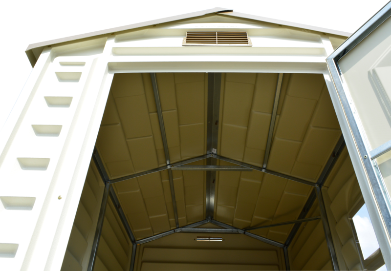 4x6 inside roof
