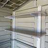 DuraPlus 8'x8'  optional storage shelves