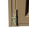 DuraPlus 8'x8' one front door panel bottom lock