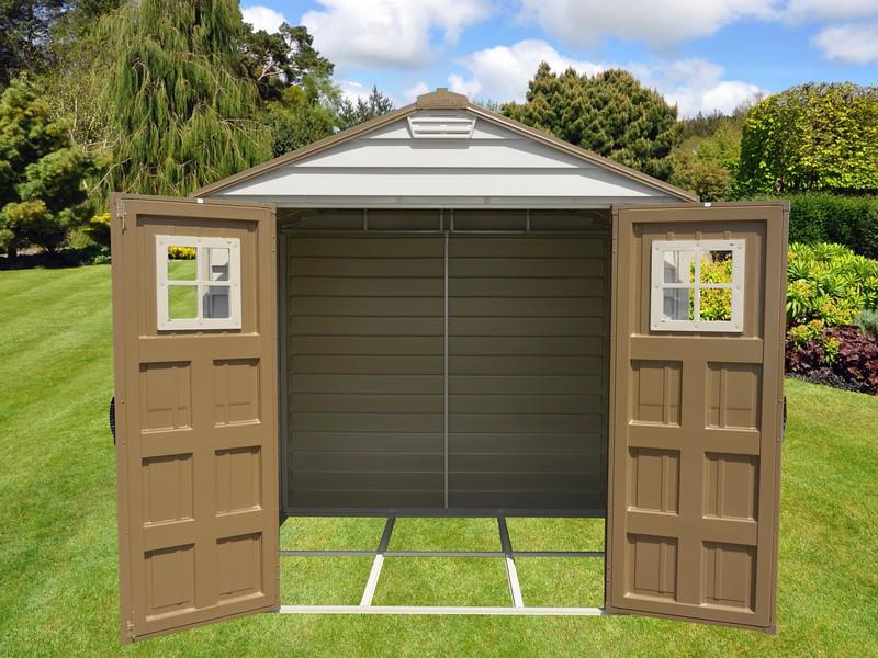 7x7 door open in garden (1)