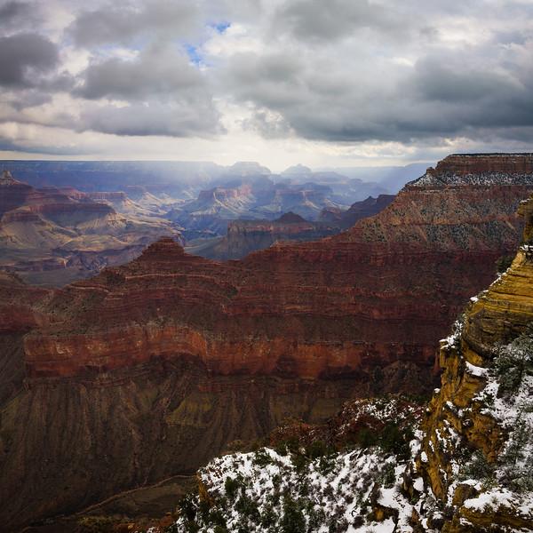 Winter Morning Storm - Grand Canyon National Park, AZ