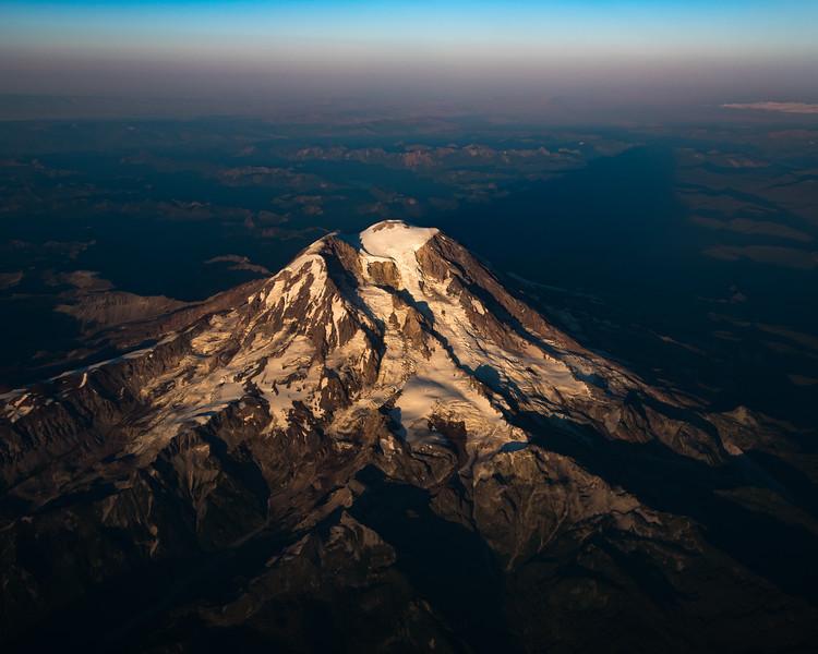 Mt Ranier From Above - Washington