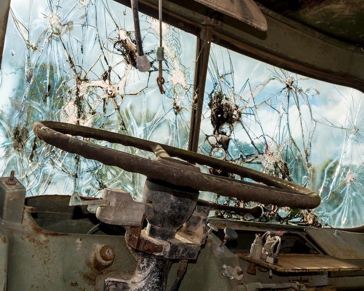 Broken Windshield - Inside