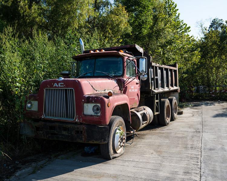 Abandoned Dump Truck