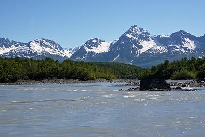 Valdez Glacier River
