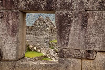 Ruins through Ruins- Machu Picchu, Peru