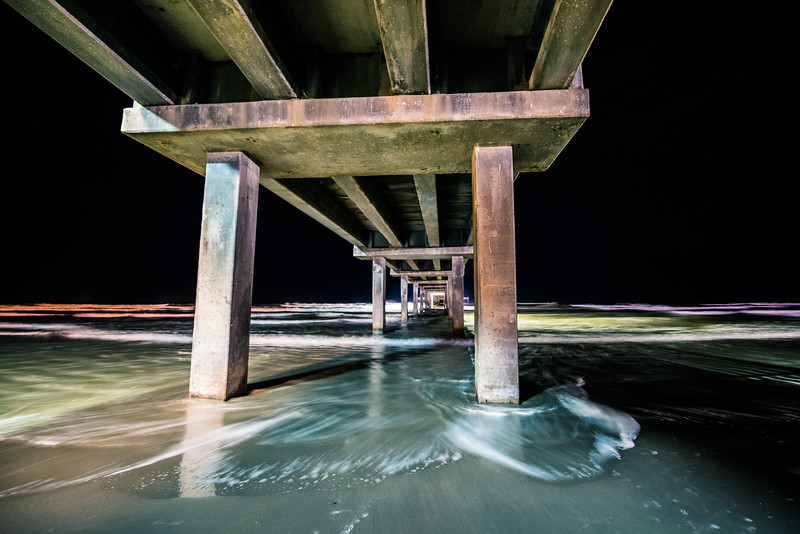 Color Temps Under the Pier