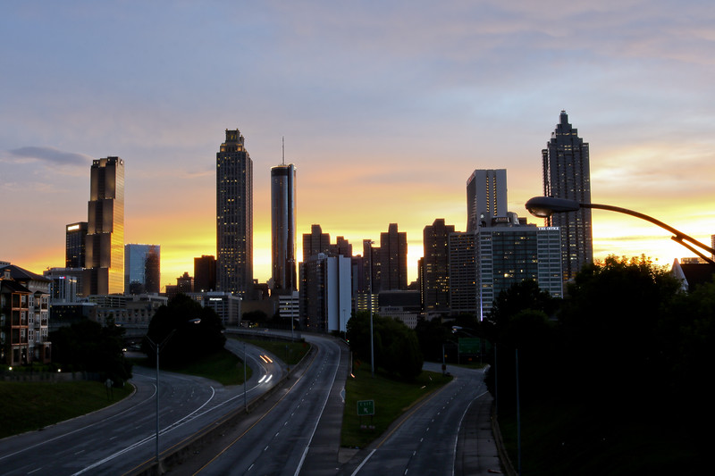 Atlanta Skyline - A New Day