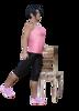 Move leg back