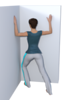 Standing Bilateral Pectoralis or Chest Stretch