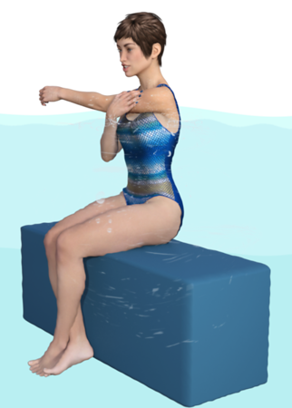 Shoulder posterior capsule stretch
