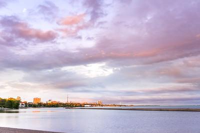 Lakeshore Sunnyside Sunset - Toronto