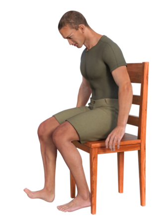 Seated Ankle / Foot Dorsiflexion