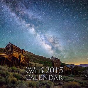 """Matthew Saville 2015 Calendar 12x12"""" Cover"""