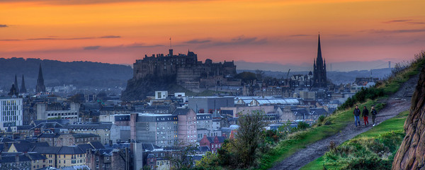 Edinburgh Autumn Castle